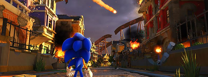 Sonic Forces Plays Through Three-dimensional Stages