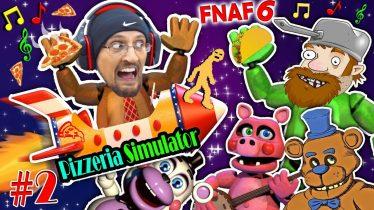 FGTEEV CRAZY DAVE @ FNAF 6 PIZZERIA SIMULATOR #2 – MAKING FUN GAMES FUNNER!