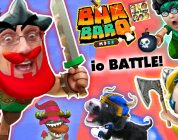 FGTEEV Barbarian Family! Go Savage Battle! .io Style Game BarBarQ w/ Puppy Oreo, Shawn, Moomy & Mike