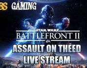 Star Wars Battlefront II Assault on Theed Live Stream!
