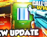 "NEW DLC WEAPONS + NEW SECRET ""CHROME"" CAMO UPDATE in COD WW2! (NEW SUPPLY DROP DLC WEAPONS & CAMOS)"