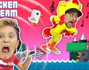 CHICKEN SCREAM! TRY NOT TO LAUGH FGTEEV ers! Super Funny Amazing Game – Music & Whisper Challenge