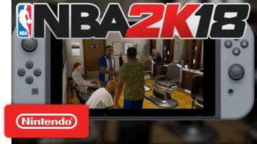 NBA 2K18 Handshakes Trailer ? – Nintendo Switch