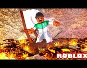 SURVIVE A RIVER OF LAVA IN ROBLOX
