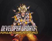 Overwatch Developer Update: Popular Community Topics
