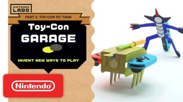 Nintendo Labo – Invent New Ways To Play With Toy-Con Garage – Part 2