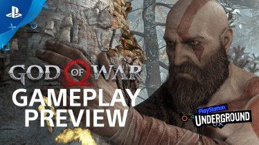 God of War: 15 Minutes of Gameplay – PS4 Gameplay Walkthrough   PS Underground