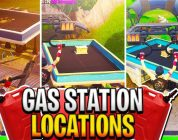 """Fortnite """"Visit different Gas Stations in a single match"""" ALL LOCATIONS! Fortnite Week 5 Challenges"""
