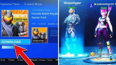 "How To Download FREE NEW ""Starter Pack"" ROGUE SKIN in FORTNITE (Fortnite Battle Royale Starter Pack)"