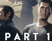 A WAY OUT Walkthrough Gameplay Part 1 – INTRO (PS4 Pro)