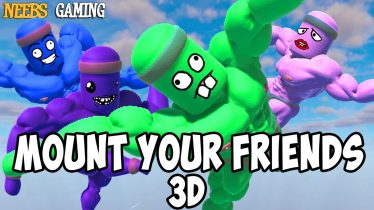 Mount Your Friends 3D: Hang On Man!