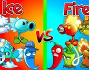 Plants vs Zombies 2 Mod FIRE vs ICE 2 Plants in Primal The Best Plants PVZ 2 Gameplay