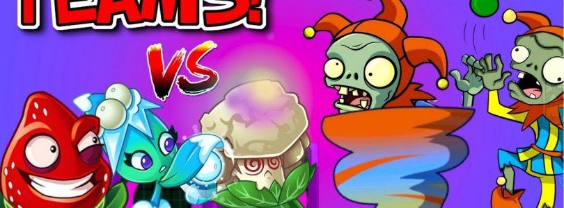 Plants vs. Zombies 2 MOD Every Team vs JESTER ZOMBIE vs Team Plants Primal PVZ 2 NEW SEASON 2