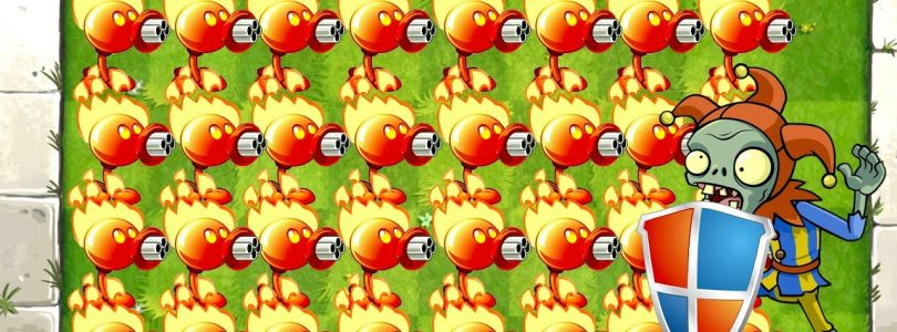 Plants vs Zombies 2 Gameplay One Plant Power Up and Piñata Party with Electric Peashooter PVZ 2