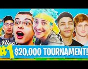 Fortnite $20,000 Youtuber Tournament HIGHLIGHTS! – Fortnite Live Gameplay! (Fortnite Battle Royale)