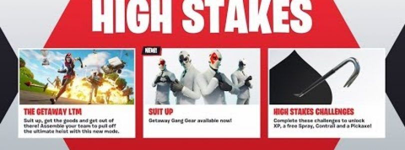 *NEW* HIGH STAKES EVENT in Fortnite! – NEW WILDCARD SKIN UPDATE! (Fortnite Getaway LTM Gameplay)
