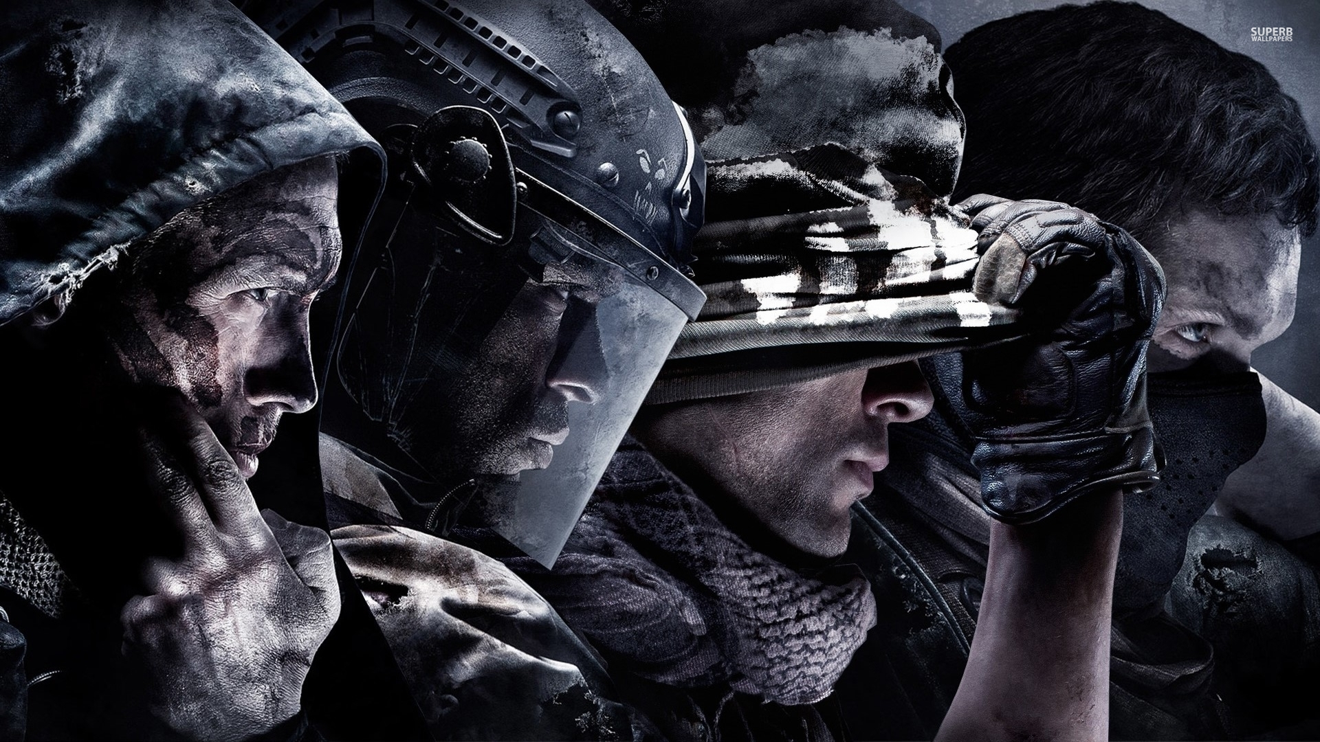 Call Of Duty Ghosts Game Retina
