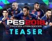 Pro Evolution Soccer 2018 Teaser Trailer